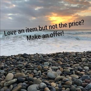 Love a item but not the price? Make me an offer!